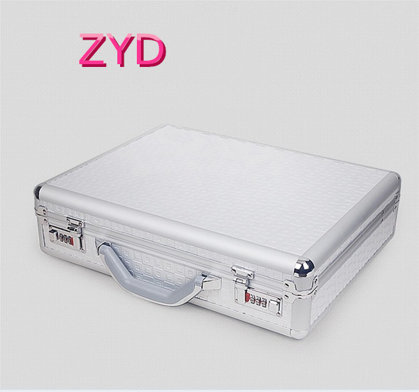 Professional Waterproof and Shockproof Aluminum Laptop Carrying Case ZYD-HZMlc002