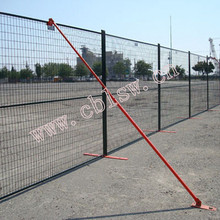 Double Electric Galvanized Temporary Fence Easy for Installation