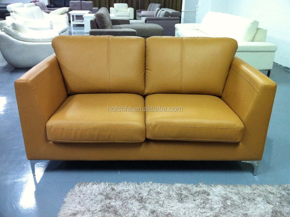 Modern Furniture Wood Frame Sofa Prices Living Room Yellow Leather Sofa View Yellow Leather