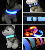 High Quality New Nylon Pet Collar Flashing Dog Cat LED Glowing Pet Collar