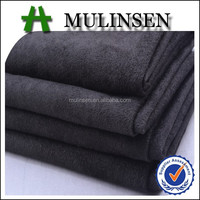 Mulinsen woven dyed soft suede fabric, 100% polyester fabric dye wholesale