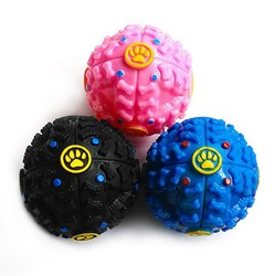 Oem Pet Squeaky Ball Rubber Dog Toys, Dog Treat Ball