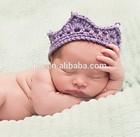 100% marca novos e de alta qualidade artesanal bonito acabamento baby baby beanie chapéu e possui elástico