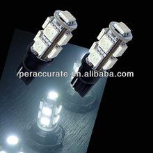 Auto LED Bulb 5050 T10 194 W5W 9smd t10 led car light car parts wholesale