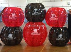 good feedback custom made full of red and black color bumper ball buy, sale knocker ball