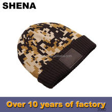 twill colorful stripe multipurpose pattern knight helmet crochet hat beanie manufacturer