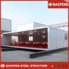 convenient loading and shipping dining prefabricated house built in 30 x 35 site