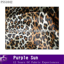 leopardo de tela de seda