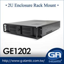 GE1202 compact PC case of 2U rackmount computer case manufacturer