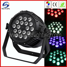 rgbw color stage decoration 4in1 waterproof led stage light