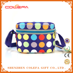 new product 2015 high quality neoprene fabric promotional picnic cooler bag for frozen food