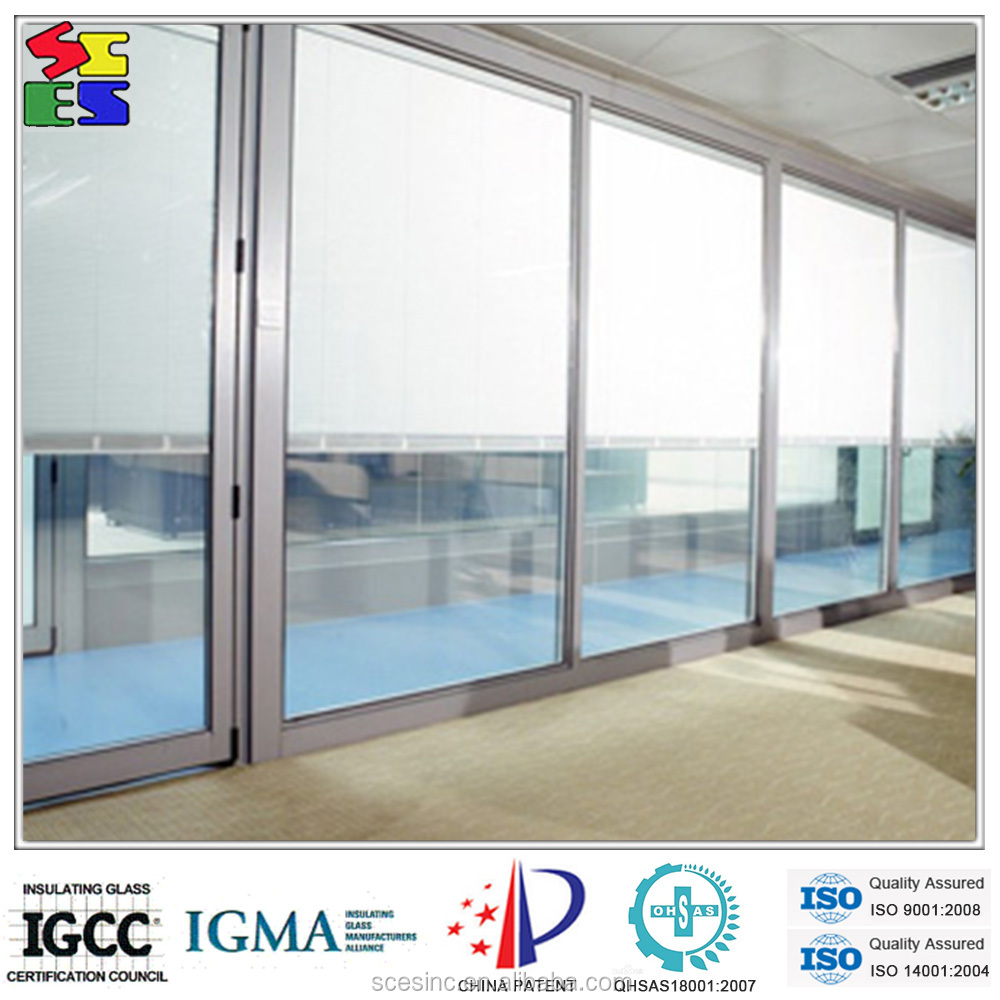 2015 fashionable vertical windows with built in blinds for Windows with built in shades