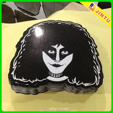 Self adhesive die cut pvc sticker paper for car & window