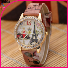 PU leather and different colors vogue kids winner wholesale wrist watch