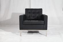 Popular sofa designs florence knoll leather sofa 1 2 3 seater replica