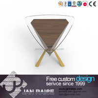 Low price new model mdf modern wooden coffee table