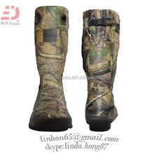 Men's Mid Hiking Boots Camo Hunting Trail Waterproof rain boots