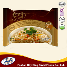 King David Brand 85G Bag beef, chicken, cheese, curry healthy Instant Noodles
