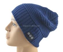 Bluetooth de China Beanie sombreros para hombres y mujeres Unisex Winter Beanie Caps