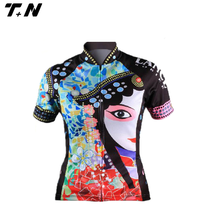 womens bodybuilding long sleeve cycling jersey/cycling jersey long sleeve