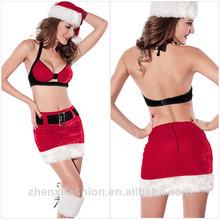 2014 Sexy fission gallus christmas latex costume