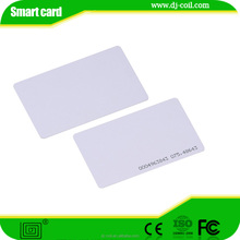 Printable rfid 0.8mm ID TK4100 chip blank card for access control