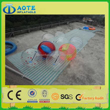 Good quality exported cheap inflatable water running ball