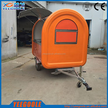 Concession mobile catering trucks/mobile snack car/mobile canteen