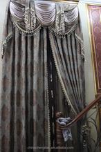 luxury classic style fringe curtain