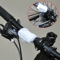100pcs Bullfrog Bike Bicycle Cycling 7 LED Silicone Front Lamp Safety Warning Head Light 4Colors DHL Freeshipping