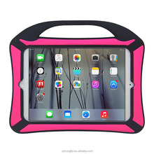 silicone kids tablet case with handle for ipad mini