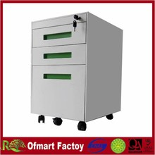office inside used mobile metal cabinet