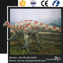 Colorful Exhibition Life-size Fiberglass Dinodaur Statues