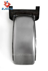 Safe Practical Motorcycle Custom Steel Fender Cover For 130-150-160 Wide Tires Chopper Hot