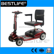 CE Adult folding mobility scooter electric vehicles for disable and elderly