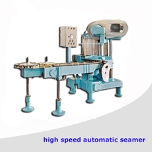 High Speed Automatic food tin can sealer machine price