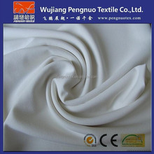 95 polyester 5 elastane bi-stretch fabric/polyester spandex blend fabric for garments and trousers