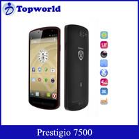 2015 Hot!! Prestigio 7500 5 inch 9.9mm Android v4.2 Quad-core 1.5 GHz MultiPhone 2+16GB 13MP Cell phone