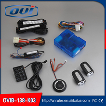Car engine push start button / RFID ENGINE LOCK IGNITION STARTER/ KEYLESS ENTRY KEYLESS GO, PUSH BUTTON ENGINE START STOP
