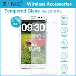 Wholesale Cheap Cell Phone Accessory For Lg G Pro Mobile Phone Tempered Glass Screen Protector