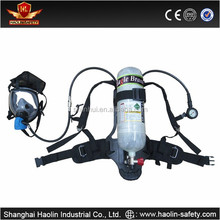 Carbon fiber 6.8L Cylinder dot certificate tanks for scba with full face mask