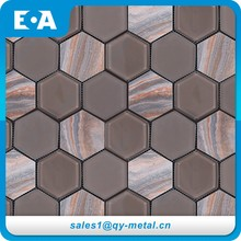 Construction Building Materials Indoor Wall Or Floor Stone Mosaic Glow In The Dark Swimming Pool Glass Tiles