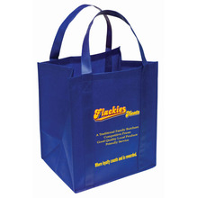 Wholesale Heat transfer pictures printing non woven shopping bag,Xmas shopping bag
