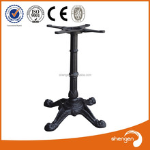 Hot sale new produce cast iron lucite furniture legs make table legs in china