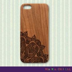 high quality light wood cover for iphone 6, mobile phone bamboo PC wooden cases for iphone 6