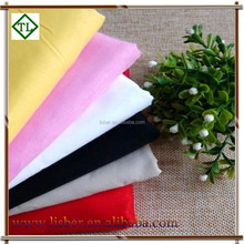 High Quality Colorful Plain Fleece 100% Cotton Fabric