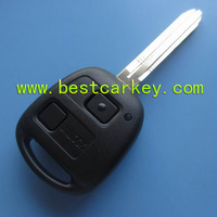 2 button remote key 433 mhz 4d67chip for toyota prado remote key toyota transponder key