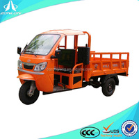 china chongqing 200cc water cooling cargo 3 wheel motorcycle with roof