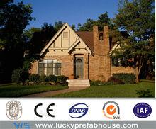 economical luxury prefabricated wooden villa for sale