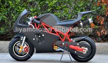 NEW DESIGN 2 stroke 49cc Kids mini pocket bike with CE